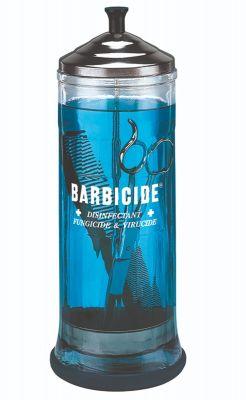 Barbicide Desinfectieflacon RVS Dompelaar 1 Liter