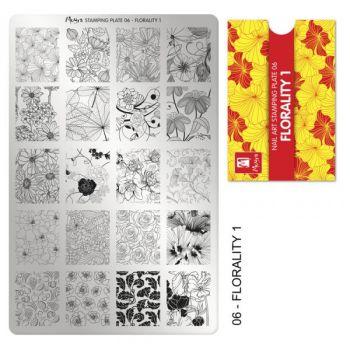 Moyra Stempelplaat 06 Florality-1
