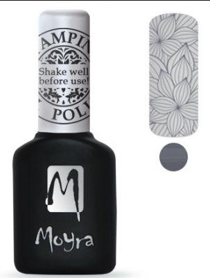 Moyra Stempel Gelpolish 02 Grey