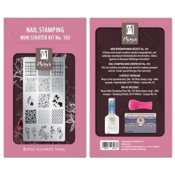 Moyra Mini Stamping Kit 103