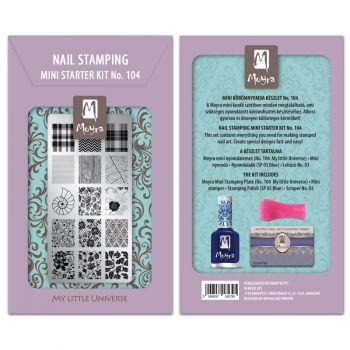Moyra Mini Stamping Kit 104