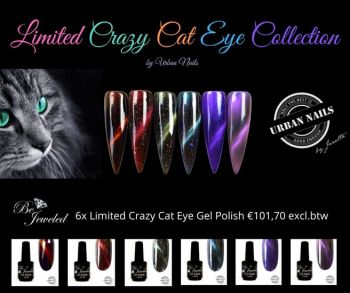 Urban Nails Crazy Cat Eye Collection