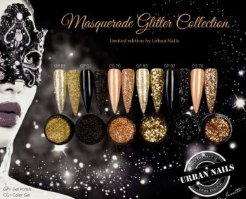 Urban Nails Masquerade Limited Glitter Collection