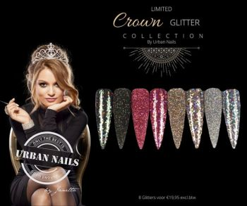 Urban Nails Limited Crown Glitter Collection