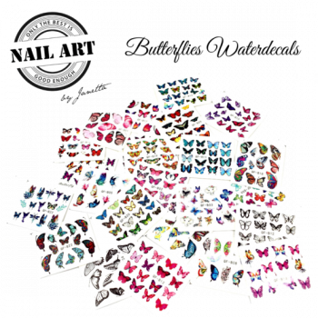 Urban Nails Butterfly Waterdecals