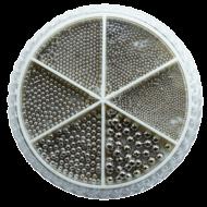 Urban Nails Caviar Beads Wheel Chrome