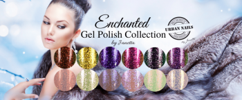Urban Nails Be Jeweled Enchanted Gelpolish Collection