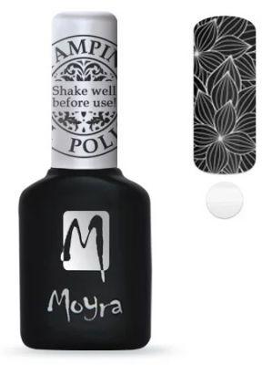 Moyra Stempel Gelpolish 03 White