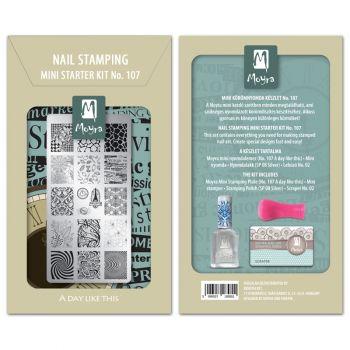 Moyra Mini Stamping Kit 107
