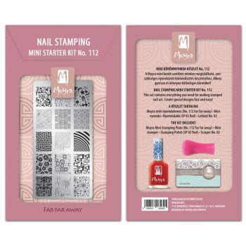 Moyra Mini Stamping Kit 112