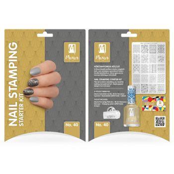 Moyra Stamping Starter Kit 40 Nouveau