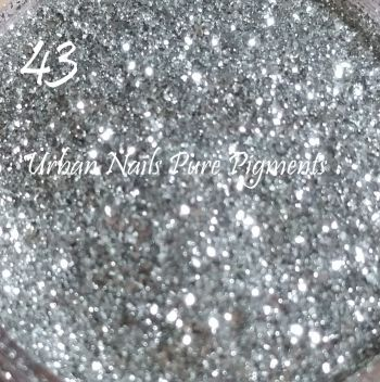 Urban Nails Pure Pigment 43 Real Silver