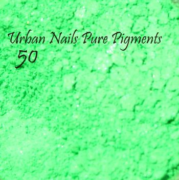 Urban Nails Pure Pigment 50 Neon Shimmer Groen