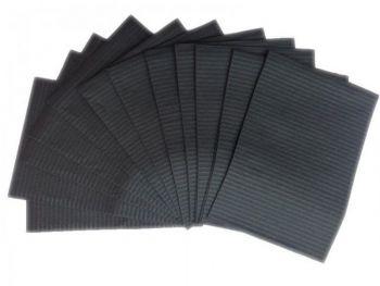 Urban Nails Table Towels Zwart 500st