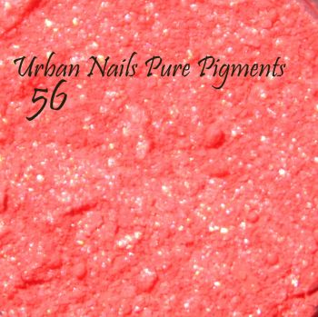 Urban Nails Pure Pigment 56 Neon Shimmer Rood
