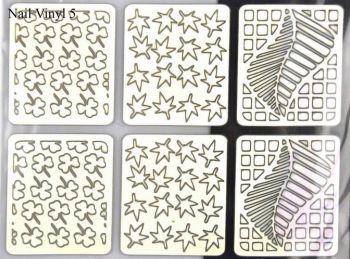 Urban Nails Vinyl Sticker 05