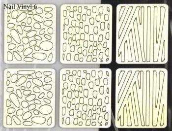 Urban Nails Vinyl Sticker 06