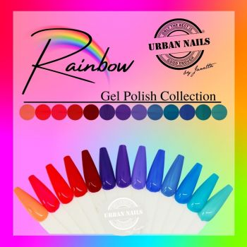 Urban Nails Rainbow Gelpolish Collection