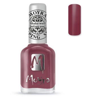 Moyra Stempellak 38 Cashmere Bordeaux