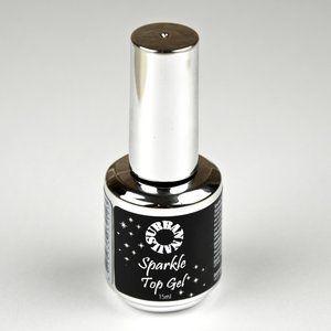 Urban Nails Sparkle Top Silver