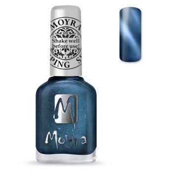 Moyra Stempellak 33 Cateye Blue