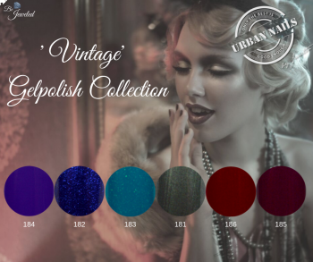 Urban Nails Be Jeweled Gelpolish Vintage Collectie