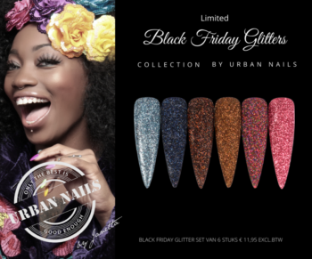 Urban Nails Black Friday Glitter Collection