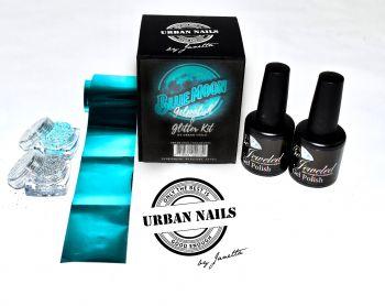 Urban Nails Blue Moon Kit