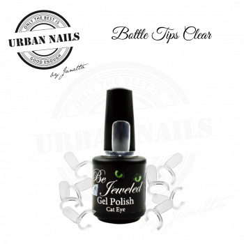Urban Nails Bottle Tips Clear 50st