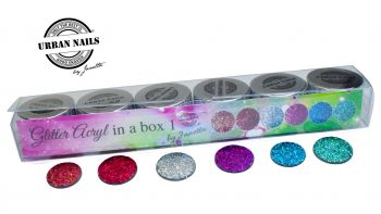 Urban Nails Glitter Acryl in a Box 1