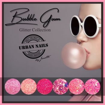 Urban Nails Bubble Gum Glitter Collectie
