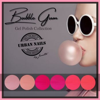 Urban Nails Bubble Gum Gelpolish Collectie