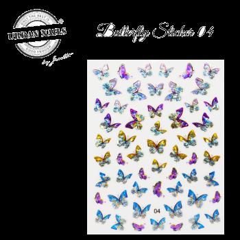 Urban Nails Butterfly Sticker 04