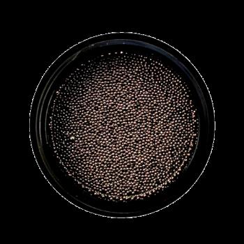 Urban Nails Caviar Beads Gun Metal Black 0,4mm
