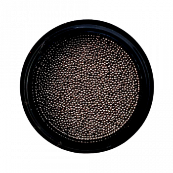 Urban Nails Caviar Beads Gun Metal Black 0,6mm