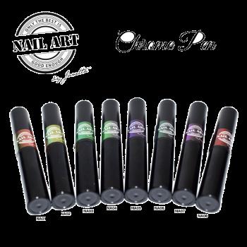 Urban Nails Chrome in a Pen Set 8 stuks