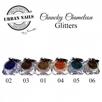 Urban Nails Limited Chunky Chameleon Glitter Collection