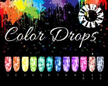 Urban Nails Color Drops Collectie (12 stuks)