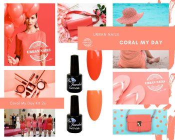 Urban Nails Coral My Day Gelpolish Kit