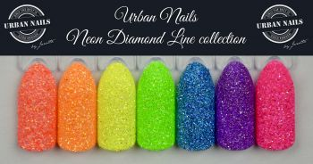 Urban Nails Neon Diamond Line Collection