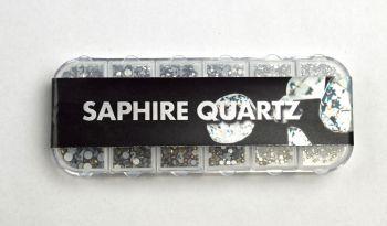 Urban Nails Saphire Quartz Rhinestones