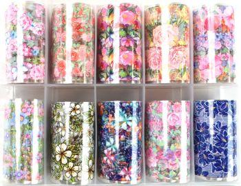 Urban Nails Foil Box Romantic Flowers