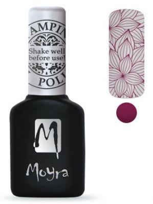 Moyra Stempel Gelpolish 04 Berry