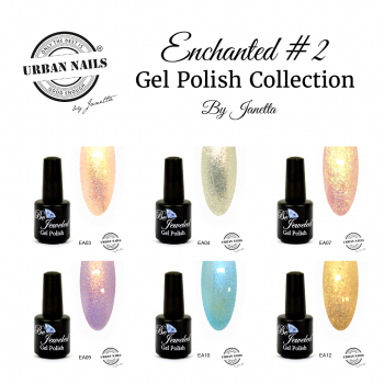 Urban Nails Be Jeweled Enchanted 2 Gelpolish Collection