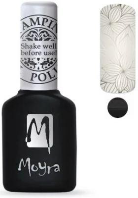 Moyra Stempel Gelpolish 01 Black