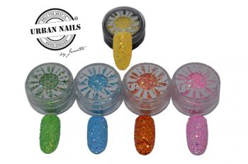 Urban Nails Limited February Glitter Collection