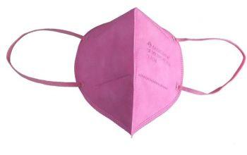 FFP2 Mondmasker Gecertificeerd Roze