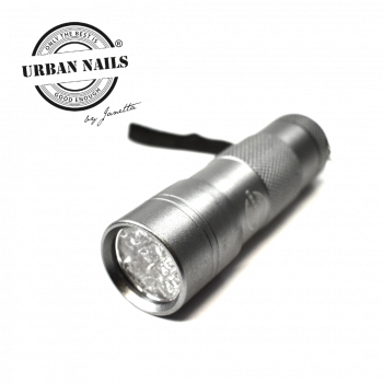 Urban Nails Mini Led/Uv Flashlight Silver