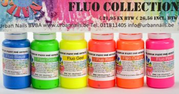 Urban Nails Pure Paint Fluo Collection