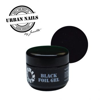Urban Nails Folie Gel Black